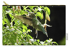 Hummingbird Feeding Carry-all Pouch