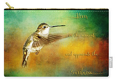 Hummingbird Hover Carry-all Pouch