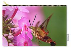 Hummingbird Moth Feeding 1 Carry-all Pouch