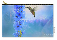 Hummingbird Mountains Carry-all Pouch by Suzanne Handel