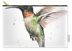 Bird Watercolor Carry-all Pouches