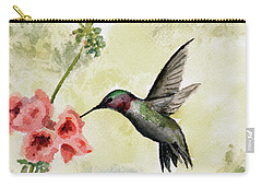Hummingbird Carry-all Pouch by Sam Sidders