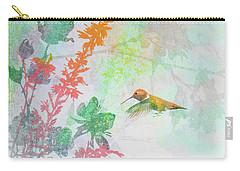 Hummingbird Summer Carry-all Pouch