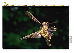 Hummingbird Taking Off Carry-all Pouch
