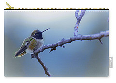 Hummingbird11 Carry-all Pouch by Loni Collins