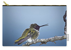 Hummingbird12 Carry-all Pouch by Loni Collins