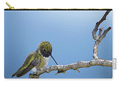 Hummingbird13 Carry-all Pouch by Loni Collins