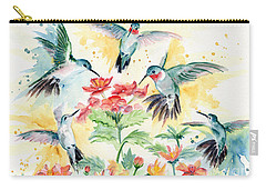 Hummingbirds Party Carry-all Pouch