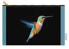 Hummming Bird Carry-all Pouch