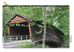 Carry-all Pouch featuring the photograph Humpback Bridge by Eric Liller