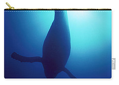 Humpback Whale Megaptera Novaeangliae Carry-all Pouch by Flip Nicklin