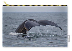 Carry-all Pouch featuring the photograph Humpback Whale by Trace Kittrell