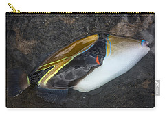 Carry-all Pouch featuring the photograph Humuhumunukunukuapua'a by Colleen Coccia