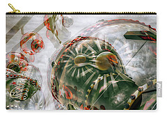 Carry-all Pouch featuring the photograph Hung Up And Strung Out by Wayne Sherriff