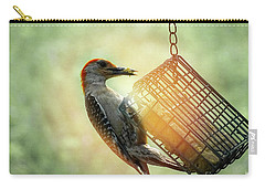 Hungry Woodpecker Carry-all Pouch by Melissa Messick