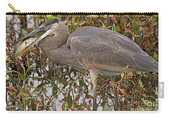 Hungry Heron Carry-all Pouch