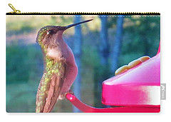 Hungry Hummer Carry-all Pouch