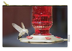Hungry Hummingbird Carry-all Pouch