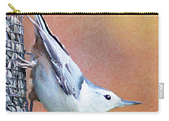 Hungry Nuthatch Carry-all Pouch