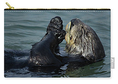 Hungry Sea Otter Carry-all Pouch
