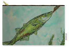 Hungry Carry-all Pouch by Terry Honstead