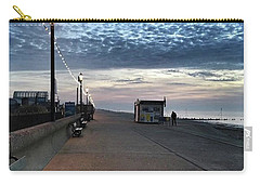 Hunstanton At 5pm Today  #sea #beach Carry-all Pouch by John Edwards