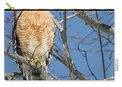 Carry-all Pouch featuring the photograph Hunter Square by Bill Wakeley