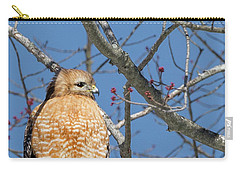 Carry-all Pouch featuring the photograph Hunting by Bill Wakeley