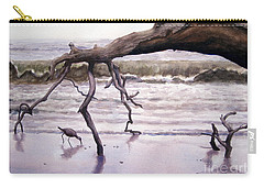 Hunting Island Sculpture Carry-all Pouch