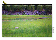 Carry-all Pouch featuring the photograph Hunting by Sue Collura