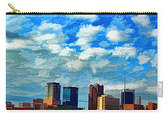 Huntsville Alabama Skyline Abstract Art Carry-all Pouch