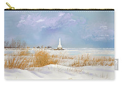 Huron Lighthouse Carry-all Pouch by Mary Timman