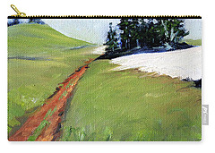 Carry-all Pouch featuring the painting Hurricane Hill by Nancy Merkle