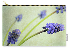 Hyacinth Grape Carry-all Pouch by Lyn Randle
