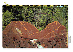 Hyalite Canyon Sculpture Carry-all Pouch
