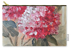 Carry-all Pouch featuring the painting Hydranga by Sharon Schultz