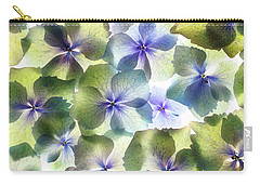 Carry-all Pouch featuring the photograph Hydrangae Squared by Rebecca Cozart