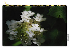 Hydrangea Carry-all Pouch by Chrystal Mimbs
