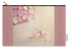 Carry-all Pouch featuring the photograph Hydrangea Flower by Lyn Randle