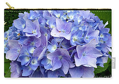 Hydrangea Heaven Carry-all Pouch by Beth Saffer