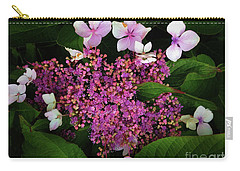 Carry-all Pouch featuring the photograph Hydrangea by Melinda Hughes-Berland