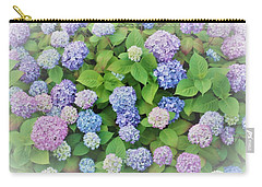 Hydrangea Play Carry-all Pouch by Ann Johndro-Collins