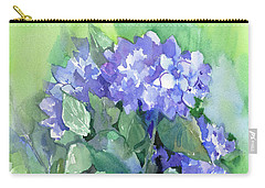 Hydrangea Carry-all Pouch by Suren Nersisyan
