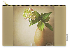 Hydrangea With Leaves Carry-all Pouch