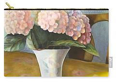 Hydrangeas Carry-all Pouch by Marlene Book