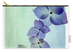Hydrengae Petals Carry-all Pouch