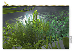Carry-all Pouch featuring the painting Hydroponic Sky by Dave Luebbert
