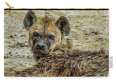 Hyena In The Serengeti Carry-all Pouch