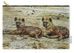 Hyenas In The Serengeti Carry-all Pouch