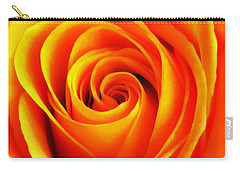 Hypnotic Orange Carry-all Pouch